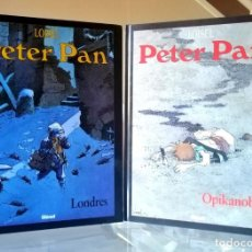 Cómics: PETER PAN Nº 1 Y 2 - LONDRES Y OPIKANOBA (REGIS LOISEL) GLENAT 2004 ''BUEN ESTADO''. Lote 236800240