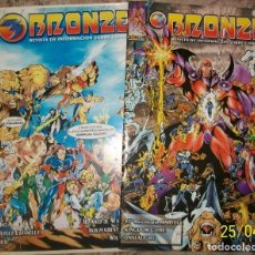 Cómics: BRONZE (INFORMACION SOBRE COMIC) NUMEROS 4 Y 5 (NO ES TEBEO). Lote 236844435