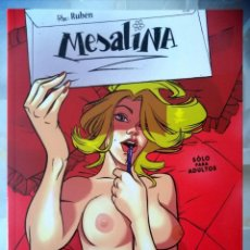 Cómics: MESALINA (RUBÉN DEL RINCÓN) GLENAT 2008 ''EXCELENTE ESTADO''. Lote 236847435