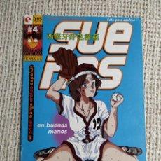 Comics : SUEÑOS Nº 4 - COMIC MANGA EROTICO -ED. GLENAT. Lote 237979910
