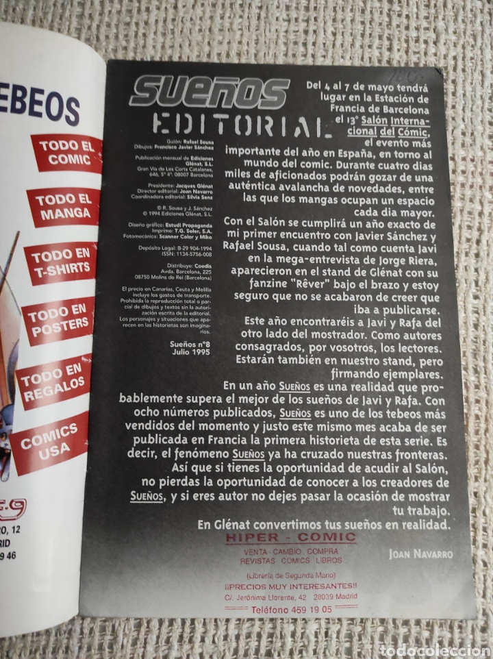 Cómics: SUEÑOS Nº 8 - COMIC MANGA EROTICO -ED. GLENAT - Foto 2 - 273451363