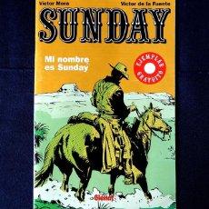 Cómics: SUNDAY - VÍCTOR MORA Y VÍCTOR DE LA FUENTE - 2006 - EDIT GLÉNAT. - ORIGINAL - COMO NUEVO. Lote 238019320