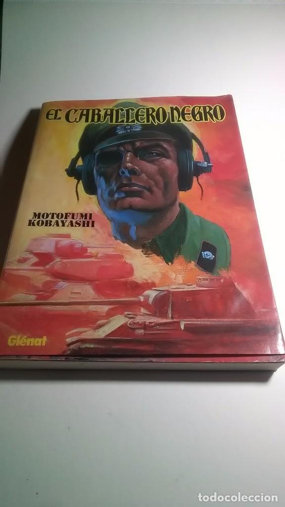 MOTOFUMI KOBAYASHI. EL CABALLERO NEGRO. EDICIONES GLENAT. 2011 (Tebeos y Comics - Glénat - Comic USA)