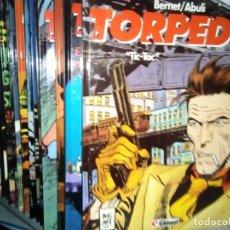 Cómics: TORPEDO COLECCION COMPLETA 15 Nº + ESPECIAL. Lote 238890715