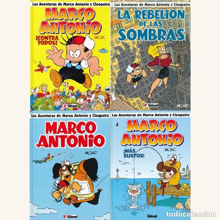 MARCO ANTONIO COMPLETA 4 Nº (Tebeos y Comics - Glénat - Autores Españoles)