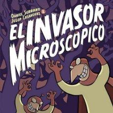 Cómics: INVASOR MICROSCOPICO. TAPA DURA. GLENAT. PREMIO JOSEP COLL. Lote 240893775