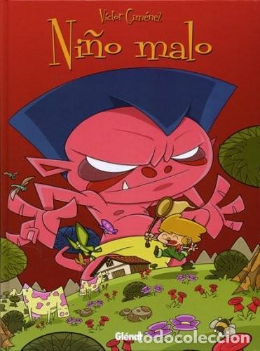 NIÑO MALO.VICTOR GIMENEZ. GLENAT. TAPA DURA.56 PAGINAS. PREMIO JOSEP COLL (Tebeos y Comics - Glénat - Autores Españoles)
