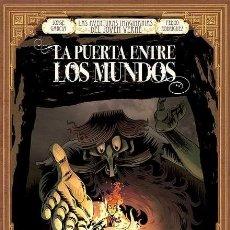 Comics : LAS AVENTURAS IMAGINARIAS DEL JOVEN VERNE.LA PUERTA ENTRE LOS MUNDOS. GLENAT. 56 PAGINAS TAPA DURA.. Lote 267204499