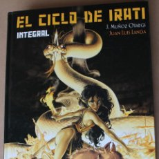 Cómics: EL CICLO DE IRATI ( 1 2 3 COMPLETA ) INTEGRAL - ED GLENAT, CARTONÉ, AÑO 2004 - MUY BUEN ESTADO. Lote 241179975