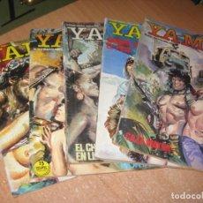 Cómics: 5 COMICS YAMBO. Lote 241874950