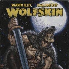 Comics: WOLFSKIN (GLÉNAT, 2010) DE WARREN ELLIS Y JUAN JOSÉ RYP. SELLO AVATAR.. Lote 242985835