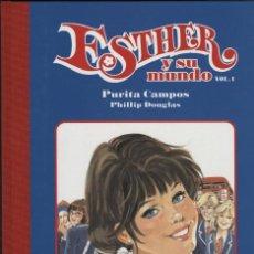 Fumetti: ESTHER Y SU MUNDO-1 (GLÉNAT, 2007) DE PURITA CAMPOS.. Lote 243097200