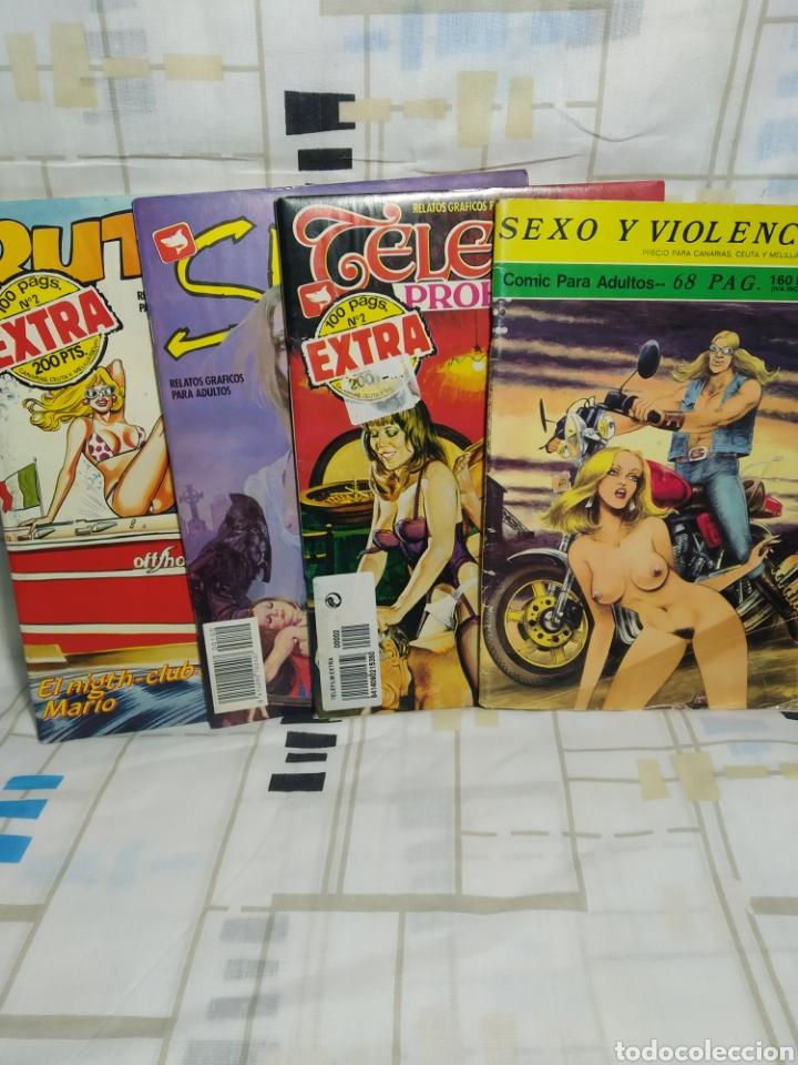 4 COMICS ERÓTICOS (Tebeos y Comics - Glénat - Serie Erótica)