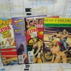 Cómics: 4 COMICS ERÓTICOS. Lote 243490955