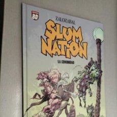 Cómics: SLUM NATION: LA COMUNIDAD / ZALOZABAL / PLANETA DEAGOSTINI 2007. Lote 243635585