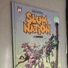 Cómics: SLUM NATION: LA COMUNIDAD / ZALOZABAL / PLANETA DEAGOSTINI 2007. Lote 243635625