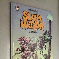 Cómics: SLUM NATION: LA COMUNIDAD / ZALOZABAL / PLANETA DEAGOSTINI 2007. Lote 243635695