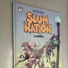 Cómics: SLUM NATION: LA COMUNIDAD / ZALOZABAL / PLANETA DEAGOSTINI 2007. Lote 243635725