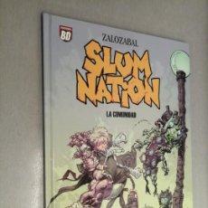 Cómics: SLUM NATION: LA COMUNIDAD / ZALOZABAL / PLANETA DEAGOSTINI 2007. Lote 243635760