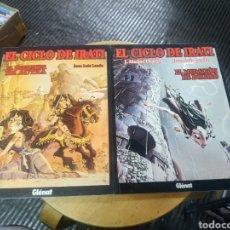Cómics: EL CICLO DE IRATI LOTE DE 2 N° 1-2 (GLENAT). Lote 243836325