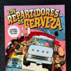 Cómics: LOS REPARTIDORES DE CERVEZA - PAU - GLENAT EDITORIAL. Lote 243870970