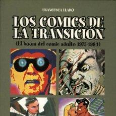 Cómics: LOS COMICS DE LA TRANSICIÓN (1975-1984) DE FRANCESCA LLADÓ (GLÉNAT, 2001). Lote 244195845