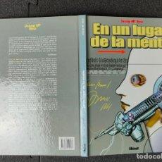Cómics: EN UN LUGAR DE LA MENTE - JOSEP Mª BEA - GLENAT - TAPA DURA. Lote 244546290