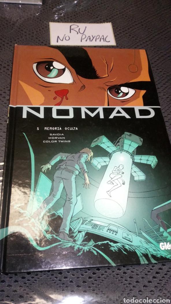 GLENAT TAPA DURA NOMAD 5 MEMORIA OCULTA (Tebeos y Comics - Glénat - Comic USA)