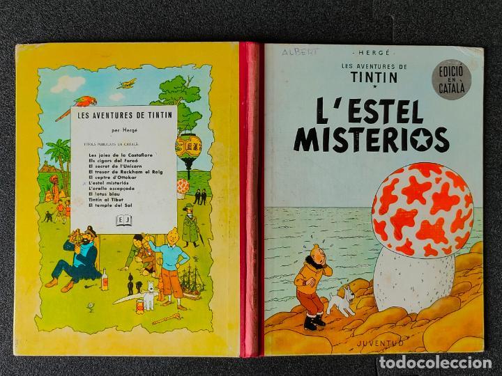 TINTIN - LESTEL MISTERIOS - PRIMERA EDICION, MAYO 1965 - JUVENTUD - TAPA DURA - CATALAN (Tebeos y Comics - Glénat - Autores Españoles)