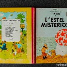 Cómics: TINTIN - L'ESTEL MISTERIOS - PRIMERA EDICION, MAYO 1965 - JUVENTUD - TAPA DURA - CATALAN. Lote 245025490
