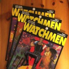Cómics: WATCHMEN / ALAN MOORE ; DAVE GIBBONS. GLÉNAT. COMPLETA (3 VOL.). Lote 245280155