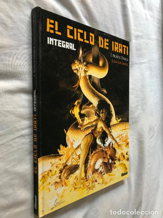 EL CICLO DE IRATI. EDICIÓN INTEGRAL EDITORIAL GLÉNAT (2004). MUÑOZ OTAEGUI Y J. L. LANDA, MUY BUENO (Tebeos y Comics - Glénat - Autores Españoles)