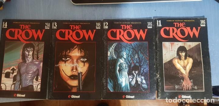 THE CROW -J. O' BARR -TEBEOS GLÉNAT, COMPLETO (4 EJEMPLARES; NÚMEROS 1, 2, 3 Y 4). (Tebeos y Comics - Glénat - Comic USA)