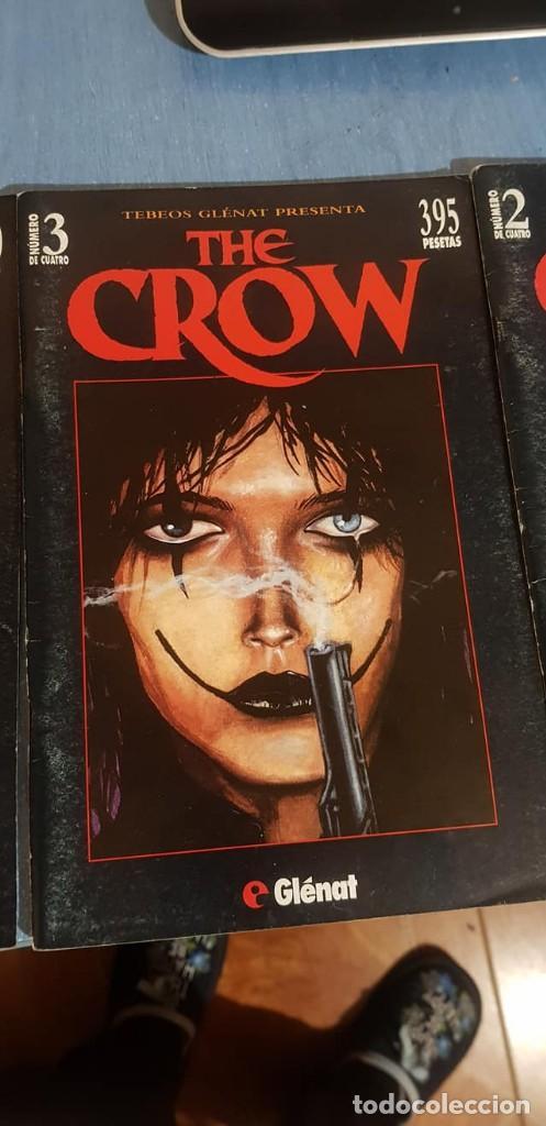 Cómics: THE CROW -J. O Barr -Tebeos GLÉNAT, Completo (4 ejemplares; números 1, 2, 3 y 4). - Foto 2 - 246545375