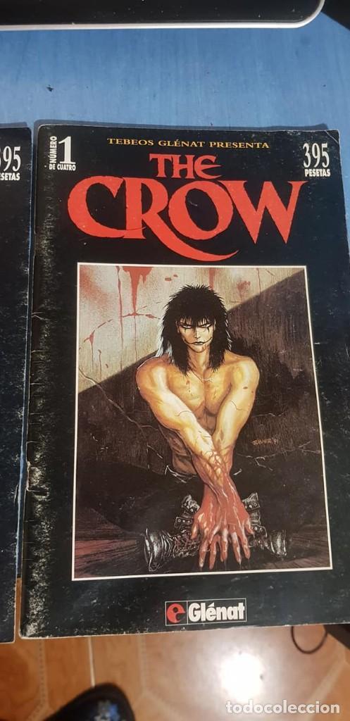 Cómics: THE CROW -J. O Barr -Tebeos GLÉNAT, Completo (4 ejemplares; números 1, 2, 3 y 4). - Foto 3 - 246545375
