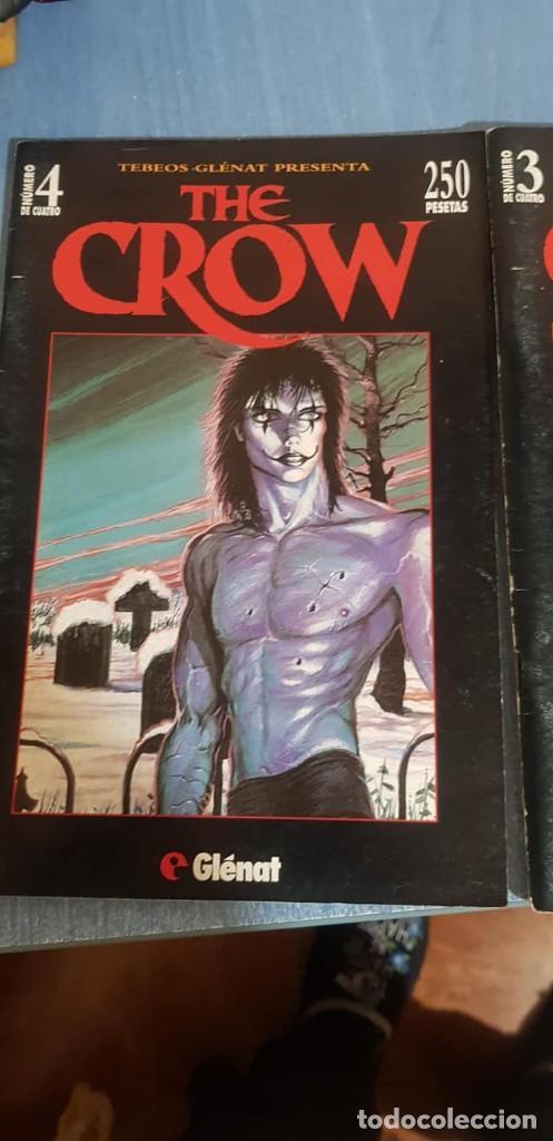 Cómics: THE CROW -J. O Barr -Tebeos GLÉNAT, Completo (4 ejemplares; números 1, 2, 3 y 4). - Foto 4 - 246545375