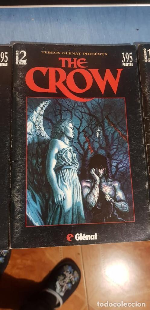 Cómics: THE CROW -J. O Barr -Tebeos GLÉNAT, Completo (4 ejemplares; números 1, 2, 3 y 4). - Foto 5 - 246545375