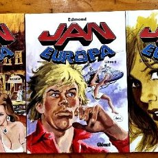Comics: JAN EUROPA 1-2-3. COMPLETA (GLÉNAT,2009-2010) DE EDMOND. TAPA DURA. COMPLETA. Lote 246842690