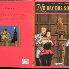 Comics: NO HAY DOS SIN TRES - FLOC'H Y FROMENTAL - GLENAT - TAPA DURA. Lote 247088020