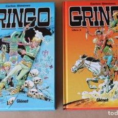 Cómics: GRINGO 1 2 COMPLETA – CARLOS GIMÉNEZ – ED GLENAT, AÑO 2009 - NUEVO. Lote 247124710
