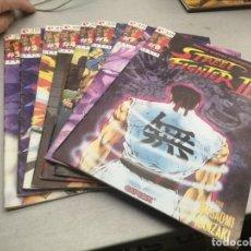 Comics: STREET FIGHTER II / SERIE COMPLETA DE 8 NÚMEROS / GLENAT. Lote 247173990