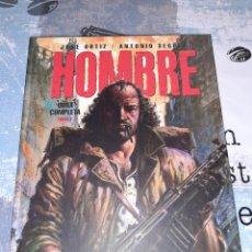 Fumetti: HOMBRE ,OBRA COMPLETA TOMO 2, JOSÉ ORTIZ, GLENAT. Lote 247597330