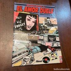 Cómics: EL AMOR DUELE - BRENDAN BECKETT. Lote 246936975