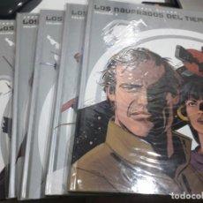 Comics: COLECCIÓN INTEGRALES LOS NAUFRAGOS DEL TIEMPO DE PAUL GILLON, GLENAT COMPLETA (5 TOMOS) RESERVADO. Lote 249055990