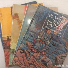 """Fumetti: COLECCIÓN """"EL VIENTO DE LOS DIOSES"""" DE COTHIAS Y ADAMOV (1993 A 1998) 5 TOMOS (COMPLETA). Lote 251959485"""