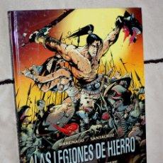 Cómics: LAS LEGIONES DE HIERRO (TOMO 1 ): URKHAN, EL PRINCIPE ENEIDE - GLENAT- GRAN FORMATO TAPA DURA.. Lote 253557490