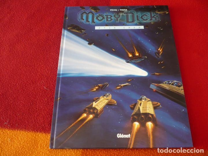 MOBY DICK 2 LA CAZA ( PECAU PAHEK ) ¡MUY BUEN ESTADO! GLENAT TAPA DURA (Tebeos y Comics - Glénat - Autores Españoles)