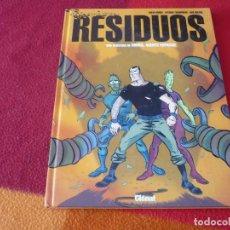 Cómics: RESIDUOS UNA AVENTURA DE MIRKO AGENTE ESPACIAL ( MUÑOZ TRASHORRAS ) ¡BUEN ESTADO! GLENAT TAPA DURA. Lote 253767540