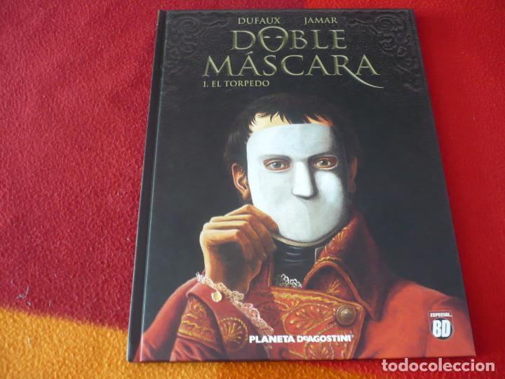 DOBLE MASCARA 1 EL TORPEDO ( DUFAUX ) ¡MUY BUEN ESTADO! PLANETA TAPA DURA (Tebeos y Comics - Glénat - Autores Españoles)