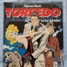 Cómics: TORPEDO LA LEY DEL TALON TAPA DURA - BERNET - ABULI. Lote 254164610